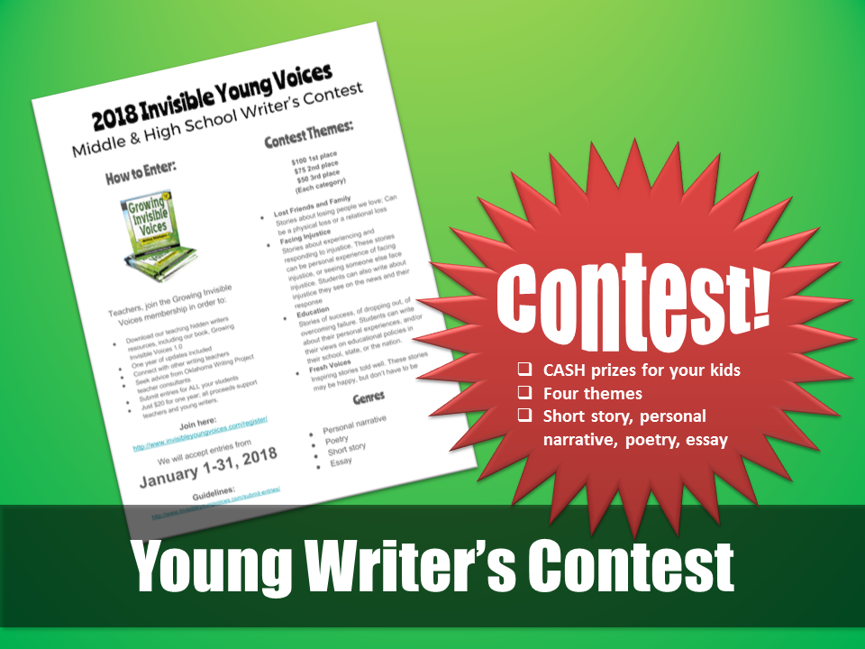 Young Writer's Contest